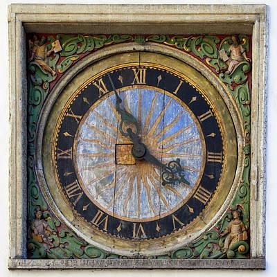 Photograph - The Wall Clock Of The Church Of The Holy Spirit by Jouko Lehto