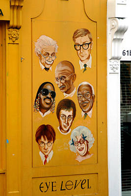 The Wall Of Fame Art Print by Jez C Self