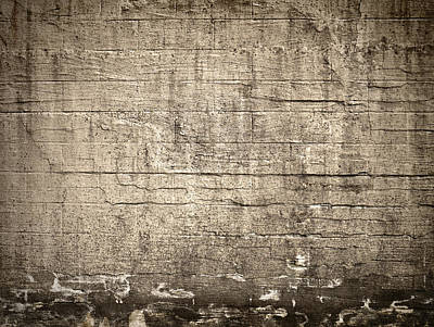 Abstract Shapes Photograph - The Wall by Wim Lanclus