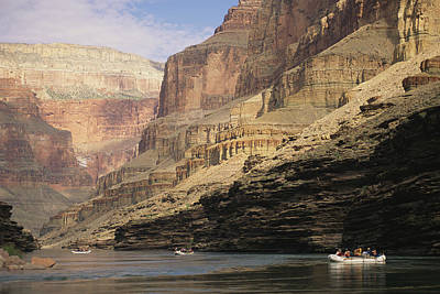 The Walls Of The Grand Canyon Dwarf Art Print