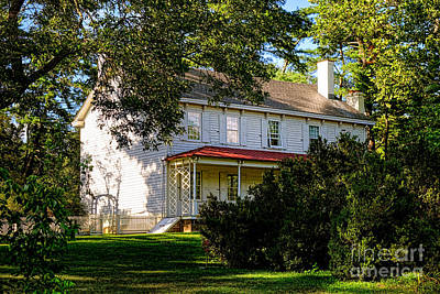 Nj Photograph - The Waln House by Olivier Le Queinec