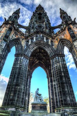 Photograph - The Walter Scott Memorial Edinburgh by David Pyatt
