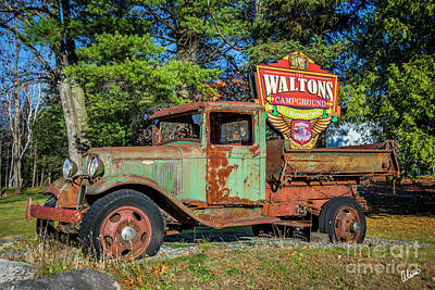 Photograph - The Waltons by Alana Ranney