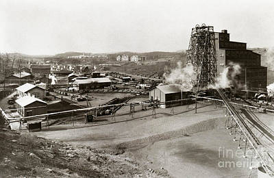 The Wanamie Colliery Lehigh And Wilkes Barre Coal Co Wanamie Pa Early 1900s Art Print