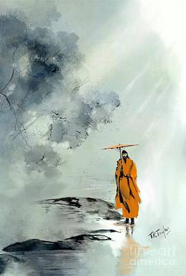 Painting - The Wandering Sage by Ralph Taylor