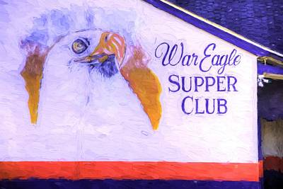 Photograph - The War Eagle Supper Club by JC Findley