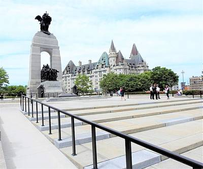 Photograph - The War Memorial by Betty-Anne McDonald