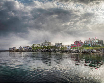 Photograph - Monhegan Harbor View by Tom Cameron