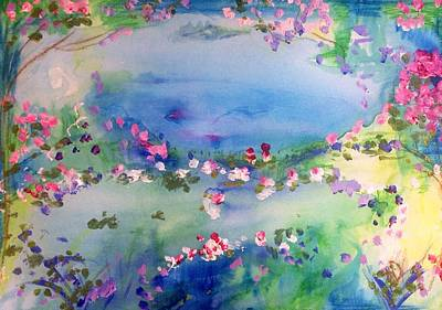 Painting - The Warmth Of August by Judith Desrosiers
