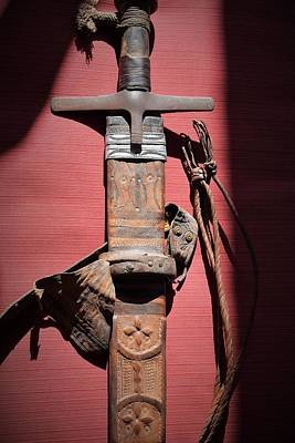 Photograph - A Warriors Sword by John Glass