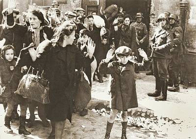 The Warsaw Ghetto Uprising Number 1 1943 Art Print by David Lee Guss