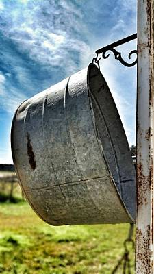 Photograph - The Wash Tub by Susan Bordelon