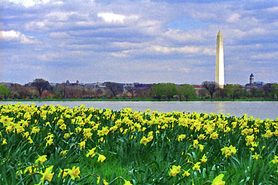 Photograph - The Washington Monument # 10 by Allen Beatty