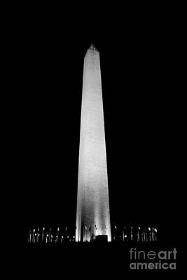 Photograph - The Washington Monument by E B Schmidt