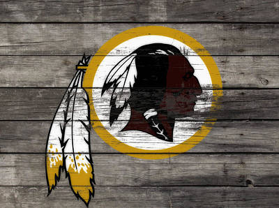 The Washington Redskins 3e Art Print