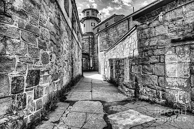 Eastern State Prison Wall Art - Photograph - The Watch Tower Eastern State Penitentiary by Anthony Sacco