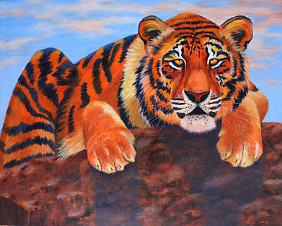 The Watch Art Print by Wendi Curtis