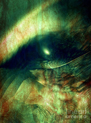 Digital Art - The Watcher by Helene Kippert