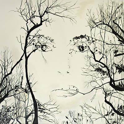 Observer Painting - Eye See by Liz Noska