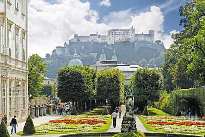 Photograph - Stunning Salzburg by Brenda Kean