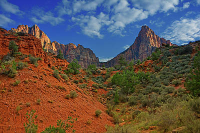 Photograph - The Watchman Trail by Raymond Salani III