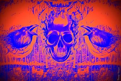 Digital Art - The Watchman by Wesley Nesbitt