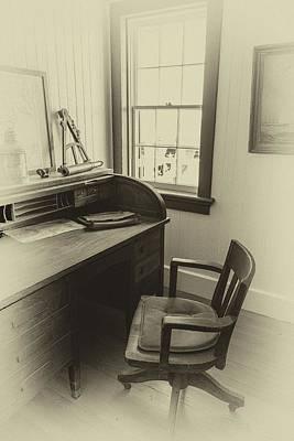 The Watchman's Desk Original by Chris Modlin