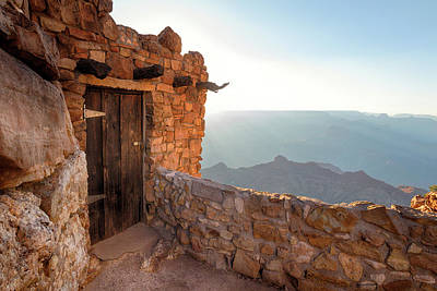 Photograph - The Watchtower Door by Susan Rissi Tregoning