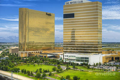 Photograph - The Water Club By Borgata by David Zanzinger