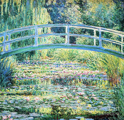 Painting - The Water Lily Pond By Monet by Claude Monet