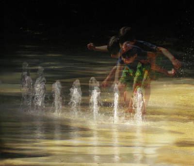 Photograph - The Water Maestro  by Louise Lindsay