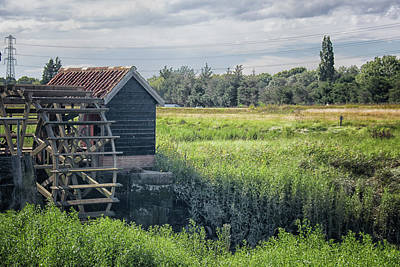 Country Cottage Photograph - The Water Mill by Martin Newman
