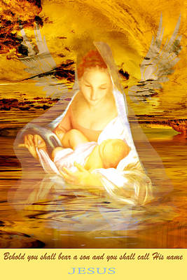 Painting - The Water Of Life by Valerie Anne Kelly