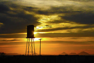 Photograph - The Water Tower by Marie Leslie
