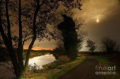 The Water Trail Print by Kim Shatwell-Irishphotographer