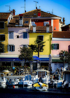 Photograph - The Watercolors In Split by Francisco Gomez