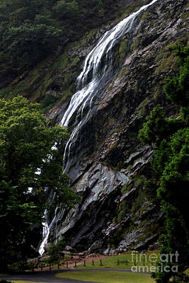 Photograph - The Waterfall, Kilfane Glen And Garden, County Kilkenny, Ireland by Doc Braham