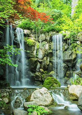 Photograph - The Waterfall by Tyson Kinnison
