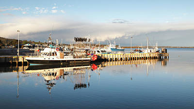Photograph - The Waterfront At St Helens by Nicholas Blackwell