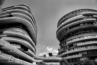 The Watergate Hotel II Art Print