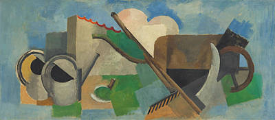 Painting - The Watering Can by Roger de La Fresnaye