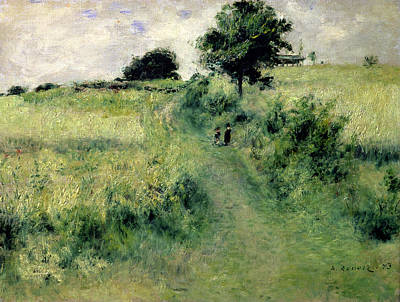 Pathways Painting - The Watering Place by Renoir