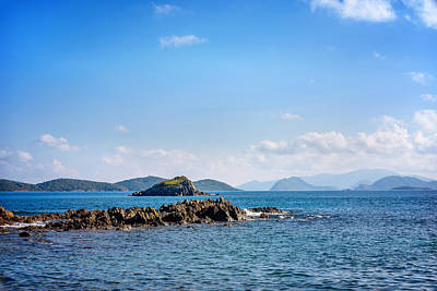 Charlotte Amalie Photograph - The Waters Edge by Camille Lopez