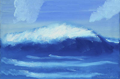 Autism Painting - The Wave by Artists With Autism Inc