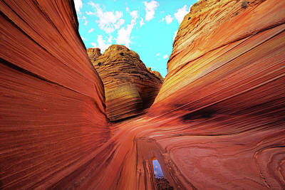 Photograph - The Wave Arizona by Norman Hall