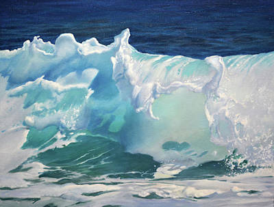 Painting - The Wave by Armand Cabrera