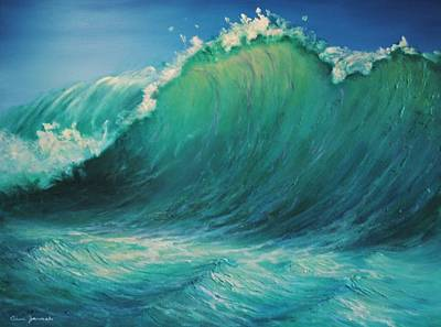 Painting - The Wave By Alan Zawacki by Alan Zawacki