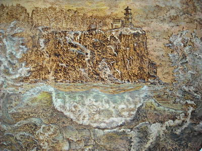 Pyrography Pyrography - The Wave by Doris Lindsey