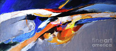 Painting - The Wave by Expressionistart studio Priscilla Batzell