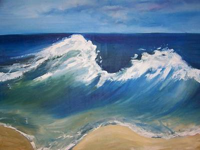 The Wave Print by Georgeanne Wayman